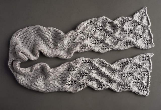 Ravelry: Lovely Leaf Lace Scarf pattern by Purl Soho