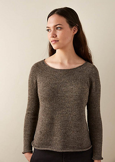 6071d33f82 Ravelry  Top-Down Circular Yoke Pullover pattern by Purl Soho