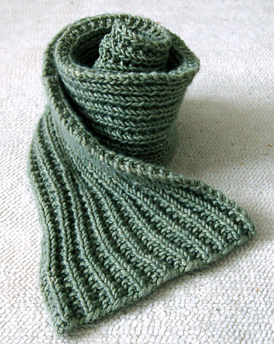Ravelry Easy Mistake Stitch Scarf Pattern By Purl Soho