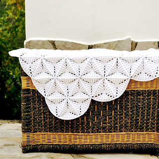 White Lily Blanket Pattern By Elena Fedotova Ravelry