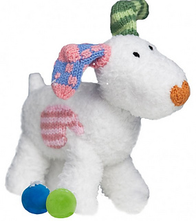 Ravelry: Snowdog (from The Snowman and The Snowdog) pattern by Louise Watling
