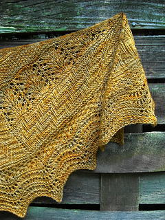 Geology Shawl pattern by verybusymonkey