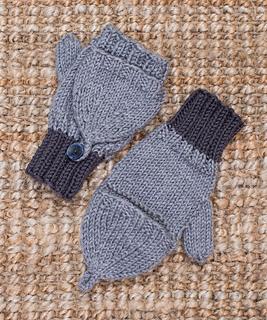 Ravelry: Flip-Top Kids' Mittens pattern by Nancy J. Thomas