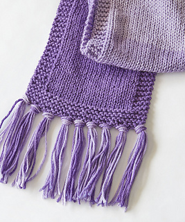 Simple Ombre Knit Scarf Pattern By Sara Kay Hartmann Ravelry