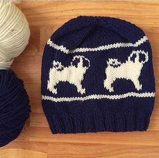 Ravelry  Pug Life Beanie pattern by Emily Haver fffe5fd006e