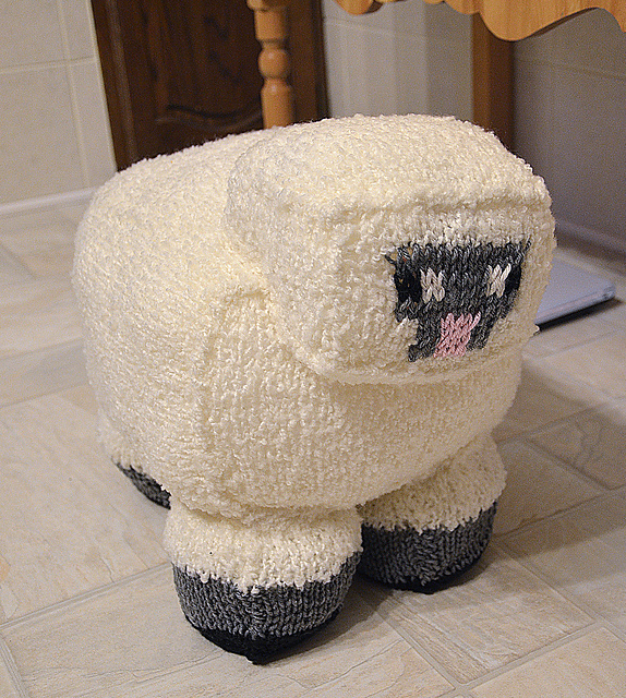 Ravelry Minecraft Sheep Pattern By Rachael Sundell