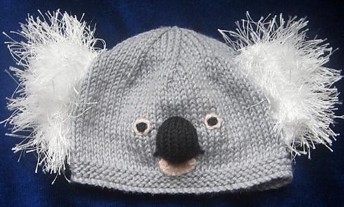 44d42a7755a Ravelry  Koala   Panda Beanies   Hats pattern by Rian Anderson