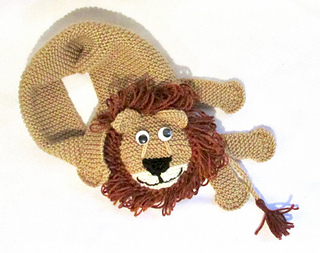 effce098296 Ravelry  Lion Scarf pattern by Rian Anderson