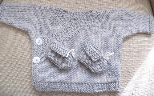 aa8384bed Ravelry  Baby Kimono pattern by Elizabeth Jarvis