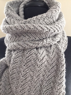 Ridges Pattern By Andra Asars Ravelry