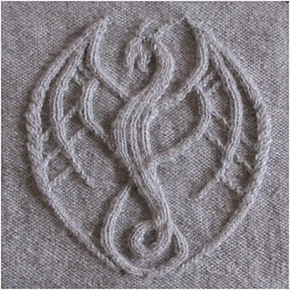 Ravelry Tahesha The Dragon Ess Pattern By Ina Wendrock