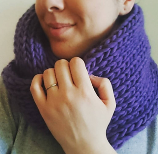 3a5f2219c15 Ravelry  Super Smooth Snood pattern by Ruth Faulkner-Duke