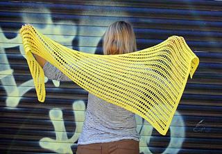 Luciella Shawl pattern by Beata Knits