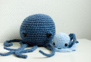 Easy Amigurumi Octopus : Mini crochet octopus amigurumi octopus plush octopus