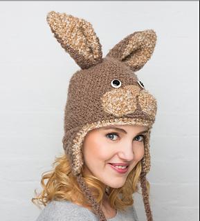 2d140f34 Ravelry: Rabbit Hat pattern by Vanessa Mooncie