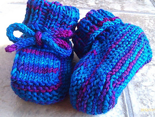 Ravelry Toasty Toes Baby Booties Pattern By Samantha Blake