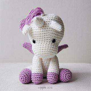 Ravelry Peachy Rose The Unicorn Amigurumi Pattern By