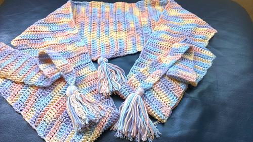 Ravelry Crochet Version Of Baktus Scarf Pattern By Jude Butterworth