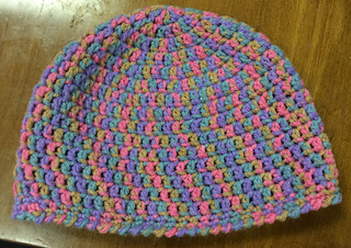 Ravelry  Simple Double Crochet Hat pattern by Rhondda Mol (Oombawka ... 439849944d1