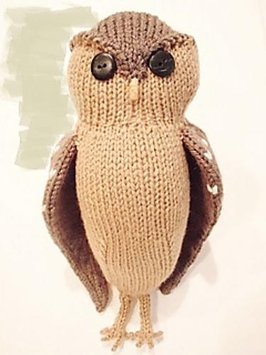 Ravelry Obligatory Owl Pattern By Sara Elizabeth Kellner