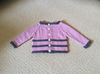 dfa5b30bd08b Ravelry  ROMA Baby Cardigan Jacket pattern by marianna mel