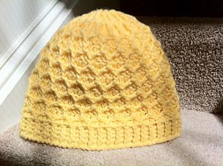 c1acfdbe061 Ravelry: Honeycomb Beanie pattern by Sarah Mitchell