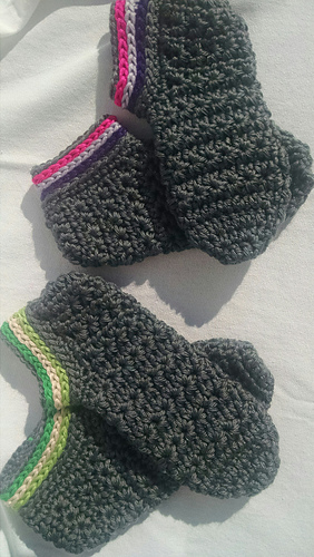 ee4afb0a35d57 Ravelry: Starlight Toddler Slippers pattern by Kinga Erdem