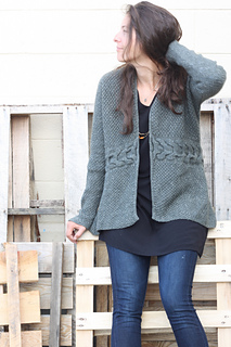 Laurel Cardigan pattern by Amy Christoffers