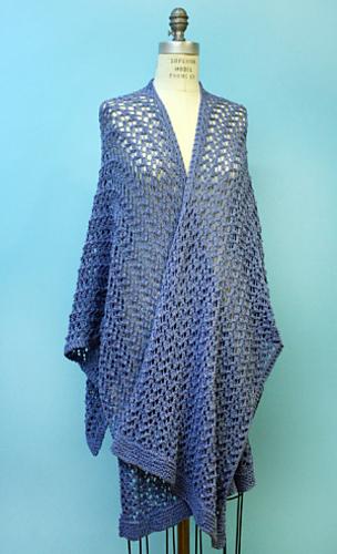 Ravelry Knit Spring Ruana Pattern By Kimberly K Mcalindin