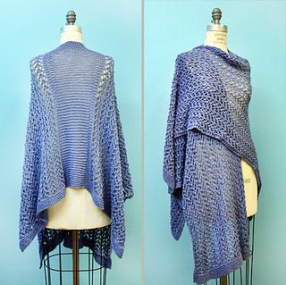 Ravelry: Knit Spring Ruana pattern by Kimberly K. McAlindin