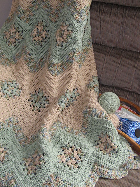Ravelry Grannies And Ripples Pattern By Stephanie Blaisure