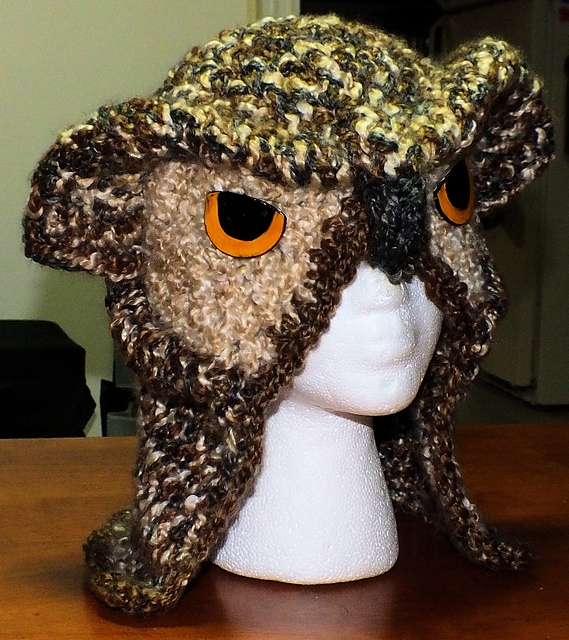 Ravelry Realistic Owl Hat Pattern By Scarlett Royal