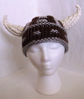 Ravelry  Viking Hat pattern by Scarlett Royal 4618878206d