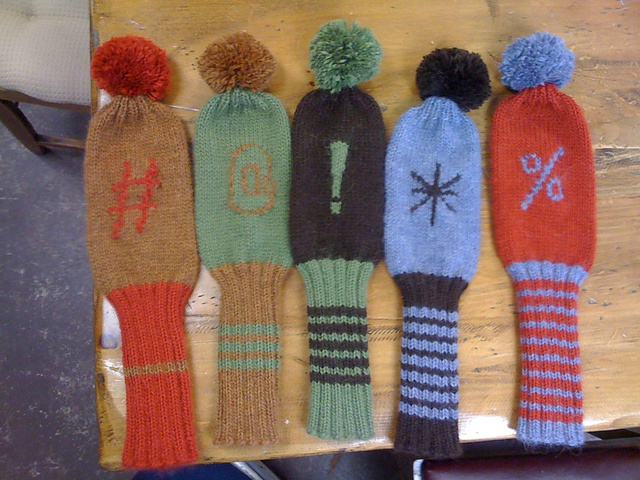 Ravelry Those At Golf Club Covers Pattern By Sarah Wilson