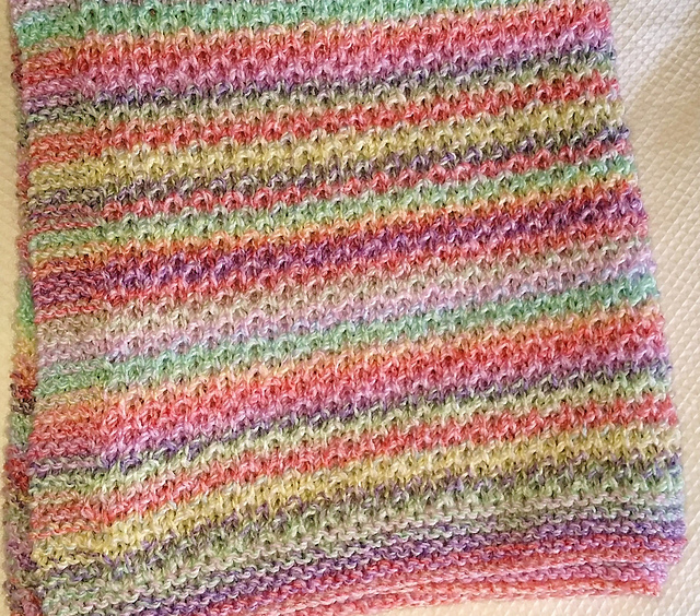 Ravelry: Honeycomb Baby Blanket pattern by Scottish Sampler