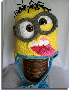 Ravelry  Crazy minion hat pattern by Mistybelle Crochet d7bcbce7214