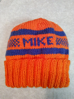 1075ca9681 Ravelry  Personalized Knitted Hat pattern by Mary Lou Keenan