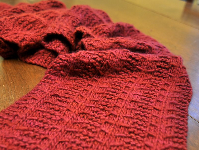 Ravelry Little Red Scarf Pattern By Shana Schasteen