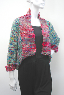 Woven & Knitted Jacket pattern by Judith Shangold