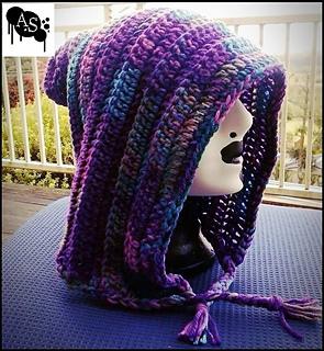 cb27655fe43 Ravelry  Pixie Hood pattern by Awkward StitchUations