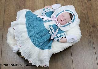 ad4de29f9563 Ravelry  Baby Dress   Shrug  156 pattern by ShiFio s Patterns