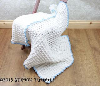 Ravelry: Waffle Stitch Blanket #326 pattern by ShiFios Patterns
