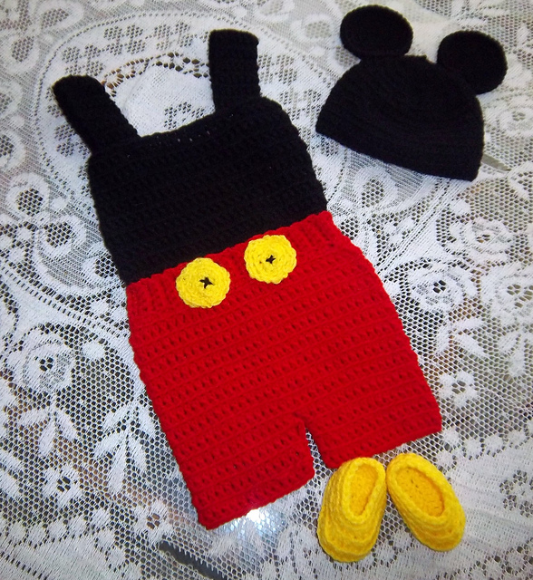 Ravelry Mickey Mouse Outfit Crochet Pattern Pattern By Shannon Houston