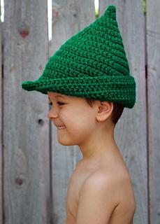 Ravelry: Peter Pan / Robin Hood Hat pattern by Amanda Moutos