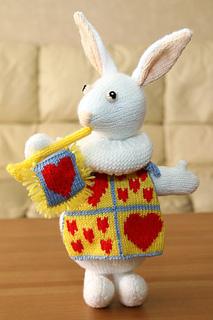 Ravelry The White Rabbit Pattern By Alan Dart