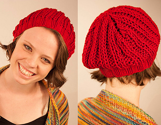 Ravelry  Quick and Easy Slouchy Beanie - Poet Slouch Hat pattern by ... e6e8498a6c5