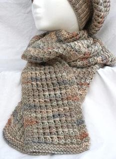 Ravelry Bamboo Stitch Scarf Pattern By Colleen Kelly