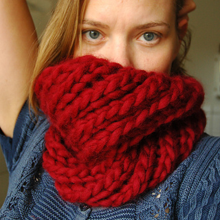 ravelry swirling cowl pattern by signe marie richter. Black Bedroom Furniture Sets. Home Design Ideas