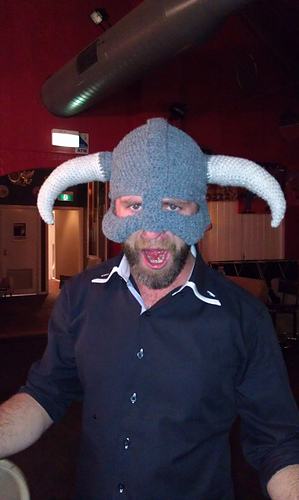 Ravelry: Carry On and Fus Ro Dah! Skyrim Helmet pattern by Patrick ...