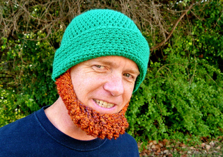 60dcf104604 Ravelry  Beard Hat Irish St Patrick s Leprechaun Costume pattern by ...